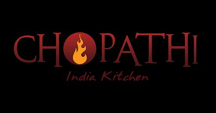 Chopathi India Kitchen Menu