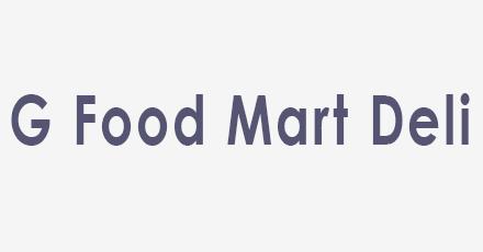 G Food Mart Deli Kirkland Menu