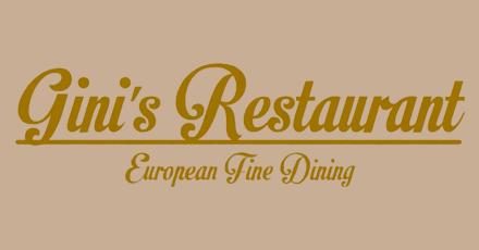 Gini S Restaurant Edmonton Menu