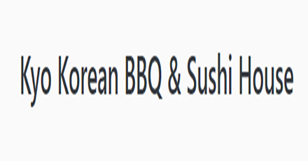 Kyo Korean BBQ & Sushi Delivery in Vancouver - Delivery Menu