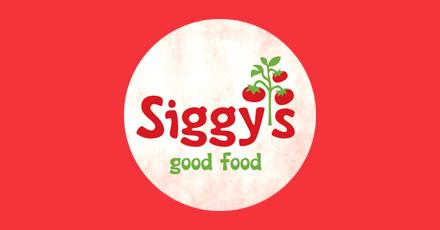 Siggys Good Food Menu