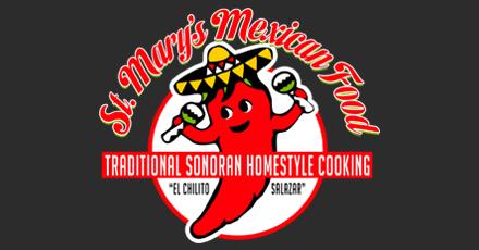 Mary S Mexican Restaurant Menu