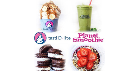 Tasti D Lite And Planet Smoothie Menu Prices And Delivery