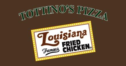 TottinosPizzaLouisianaFriedChicken2216GardenaCA - Tottino's Pizza & Louisiana Gardena Ca